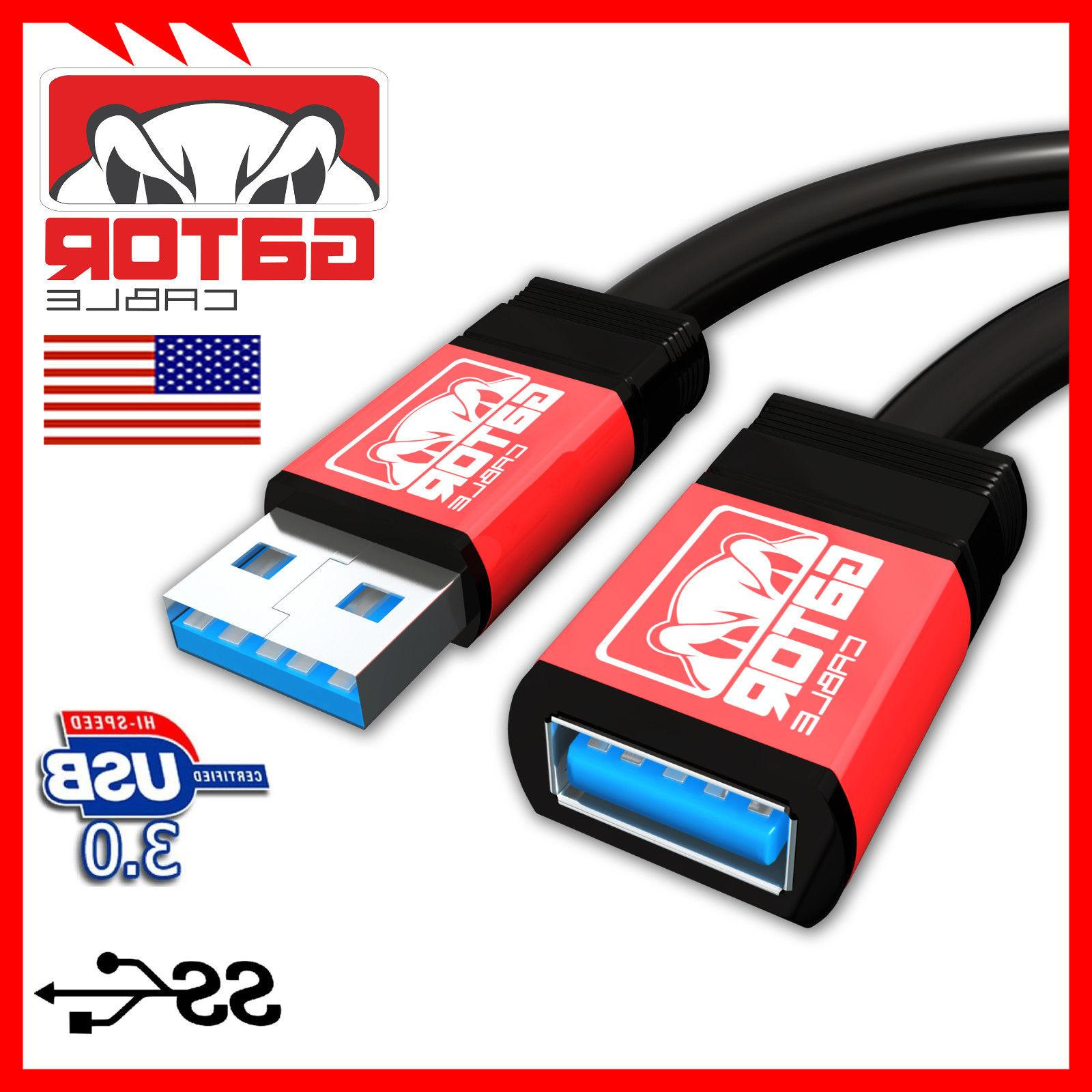 USB Super High Speed A Female A Extension Cord Case