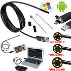 USB Endoscope 5m 6 pc LED Waterproof Borescope Inspection Ca