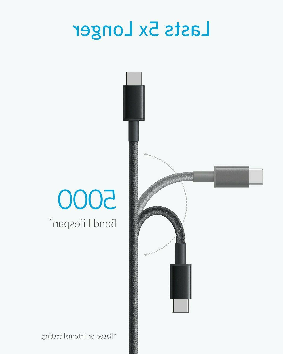 Anker USB Type C Cable 2x 6Ft USB-C USB Charging for