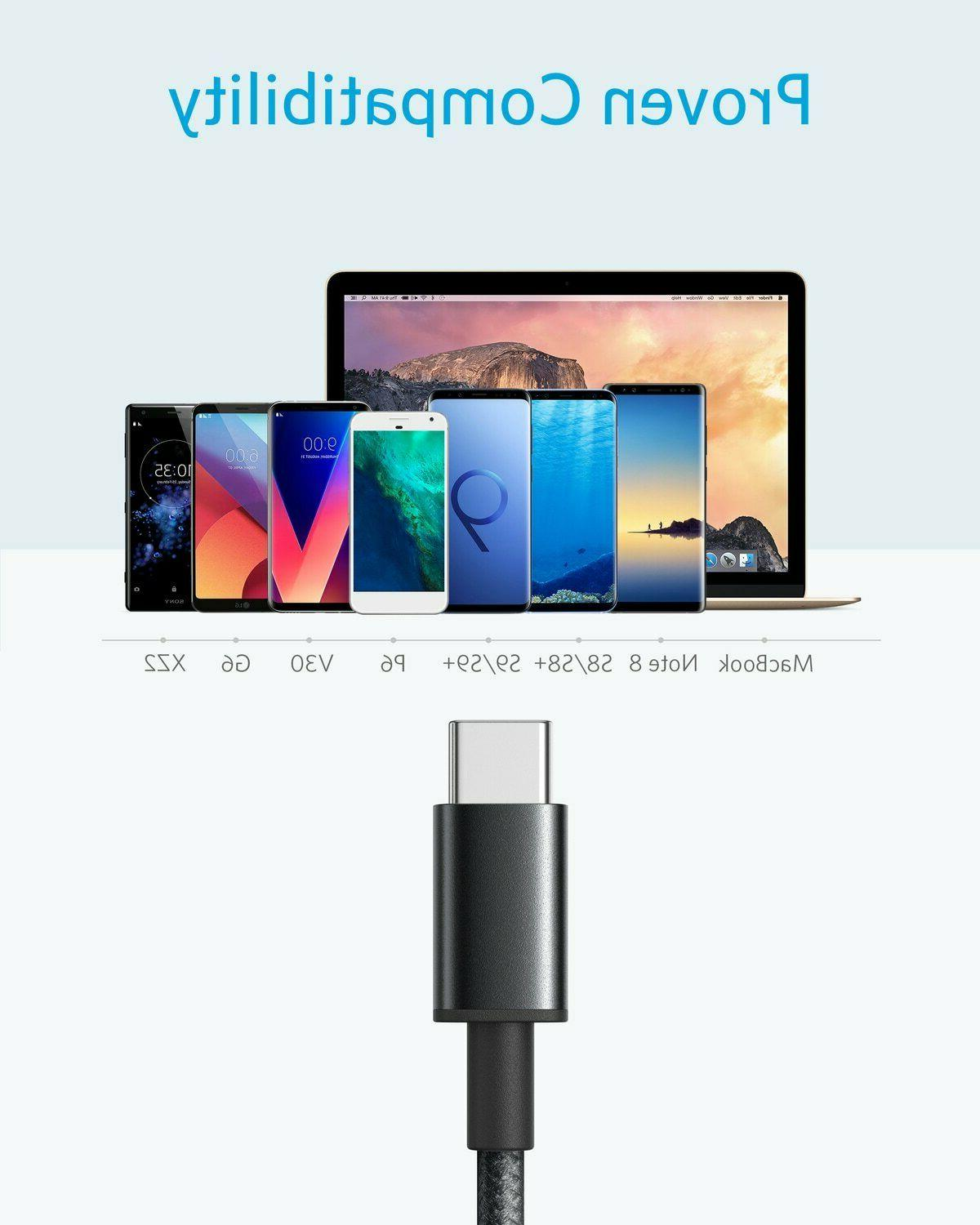 Anker C Cable 2x USB-C USB Fast Charging Samsung