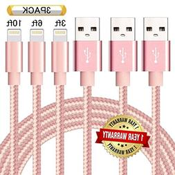 lightning cable nylon braided certified