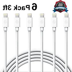 Everdigi Lightning Cable, iPhone Charger 6Pack 3FT iPhone Ch