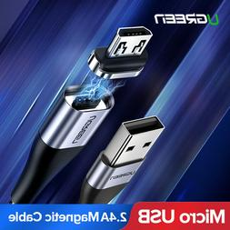 Ugreen Magnetic Micro USB Cable 2.4A Fast Charging Cable Dat