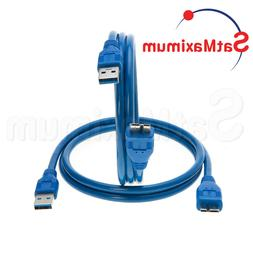 Micro USB 3.0 Cable A Male to Micro B Male Fast Speed Charge