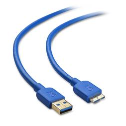Cable Matters Micro USB 3.0 Cable  Blue 6 Feet