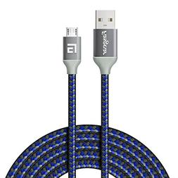 Fasgear Micro USB Cable  to USB 2.0 High Speed Charging Anti