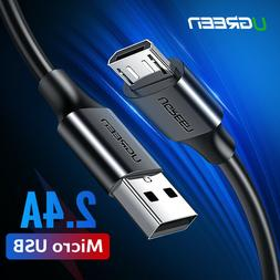 UGREEN Micro USB Cable 5V2A Fast Charger USB Data Cable For