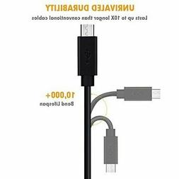 Micro USB Cable Android,COVERY 6Pack  USB to Micro USB Cab