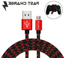 Micro USB Cable FAST Charger for PlayStation4 PS4 Slim Duals