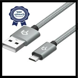 Rankie Micro USB Cable Nylon Braided Extremely Durable Data