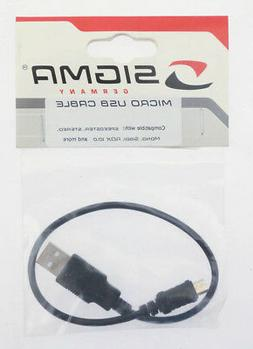 Sigma Micro USB Charging Cable