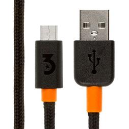 EMPIRE Micro USB Connector USB Charging Data Cable - Braided