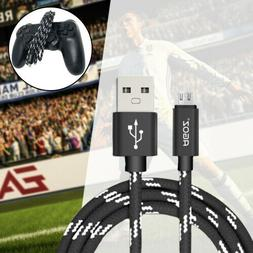 Micro USB FAST Charger Cable for PlayStation 4 slim PS4 Dual
