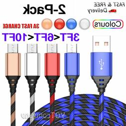 Micro USB long Cable Fast Charge & Data Sync Cord For Samsun