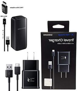 Offical OEM Samsung Adaptive Fast Charging Black Charger - f