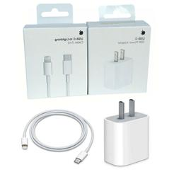 Original 18W Fast Charger USB-C to Lightning Cable 1M for iP