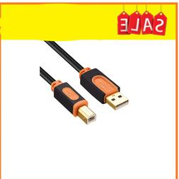 Printer Cable, SNANSHI USB Printer Cable USB 2.0 Type A Male
