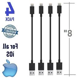 """Short USB Cable 8-inch 8"""" Charger Iphone Charging Cables Dat"""