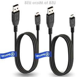 T POWER 2 x pcs Micro-USB to USB Cable Compatible with Barne