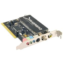 Sabrent TV Tuner/Video Capture/DVR/DVD Maker PCI Card with R