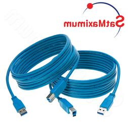 USB 3.0 Cable A Male to B Male Type High Quality Super Speed