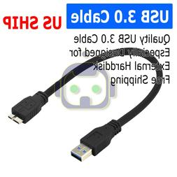 USB 3.0 CABLE CORD FOR SEAGATE BACKUP PLUS SLIM PORTABLE EXT