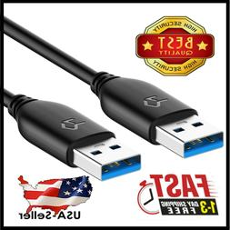 USB 3.0 Cable High Quality Type A to Type A Cable 6/10/15 Fe