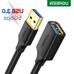 UGREEN Super speed USB3.0 Type A Male to Female Extension Ch