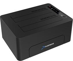 Sabrent USB 3.0 to SATA Dual Bay External Hard Drive Docking