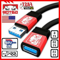 USB 3.0 Super Speed Extension Cable Male A to Female A Charg