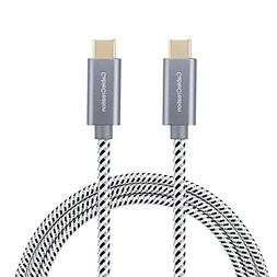 USB Type C Cable 10ft, CableCreation USB-C to USB-C Braided