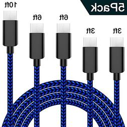 ACTIONPIE Type USB C Cable, Nylon Braided Fast Charger Cord