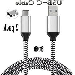 Type-C USB Charger Cord  Fast Quick Charge USB C Cables for