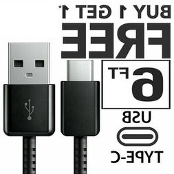 USB C Cable Type C Fast Charger For OEM Samsung Galaxy S8 S9