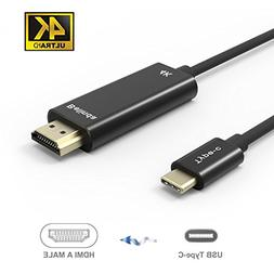 USB C TO HDMI Cable,Belinda USB-C Type c to HDMI Cable 6FT W