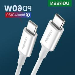 Ugreen USB C to USB C Charging Cable Type C Fast Charger Pow