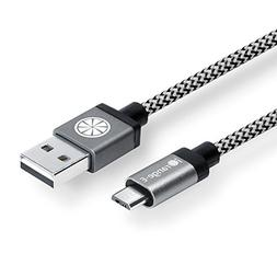 USB Cable, iOrange-E 6.6ft  Micro USB Cable Braided, Quick C