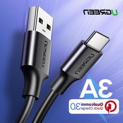 UGREEN USB Cable USB-C Type C Data Fast Charging Cable For S