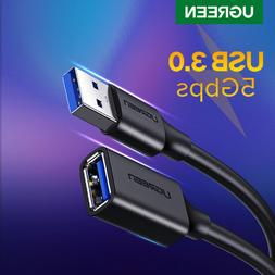 UGREEN USB Extension Cable USB 3.0 Male to Female Data Sync