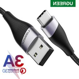 Ugreen USB Type C Cable 3A Quick Charge QC 3.0 Fast Charging