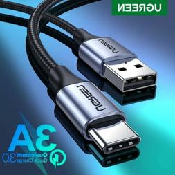 Ugreen USB C Type C Cable 3A Phone Data Fast Charge Cable Fr