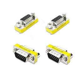 VGA/SVGA 15pin Gender Changer Adapter Male to Female Cable E