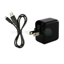 Wall Charger FAST+USB Micro Cable for LG Tribute Dynasty/Tri